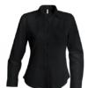 Strykefri Langermet Skjorte fra Kariban for Kvinner